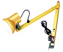 Vestil LLS-60 single arm sodium dock light 60 in long