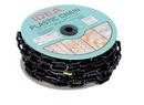 Vestil PCB-B-CN black plastic chain barricade 50 ft