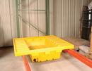 Vestil PRS-51-D pallet rack-containment sump w/drain