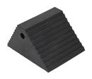 Vestil PWC-DS-BK plastic dual slope wheel chock black