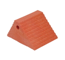 Vestil PWC-DS-OR plastic dual slope wheel chock orange