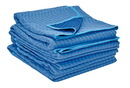 Vestil QPC-7280-UP-4PK all weather moving 4 pads polyester
