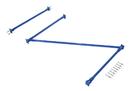 Vestil SB-C-8-48 standard cantilever brace set 96 x 48