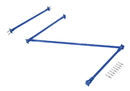 Vestil SB-C-8-96 standard cantilever brace set 96 x 96