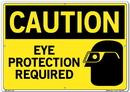 Vestil  SI-C-10-E-AL-040 sign-caution-10 20.5x14.5 aluminum .040