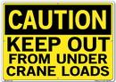Vestil  SI-C-30-E-AL-040 sign-caution-30 20.5x14.5 aluminum .040