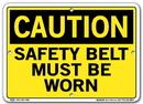 Vestil  SI-C-53-A-AL-040 sign-caution-53 10.5x7.5 aluminum .040