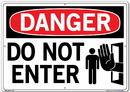 Vestil  SI-D-05-E-AC-130 sign-danger-05 20.5x14.5 alum comp .130