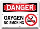 Vestil  SI-D-13-A-AC-130 sign-danger-13 10.5x7.5 alum comp .130