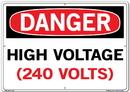 Vestil  SI-D-24-E-AL-080 sign-danger-24 20.5x14.5 aluminum .080