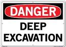 Vestil  SI-D-32-E-AL-080 sign-danger-32 20.5x14.5 aluminum .080