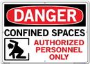 Vestil  SI-D-39-E-AC-130 sign-danger-39 20.5x14.5 alum comp .130