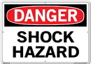 Vestil  SI-D-42-E-AC-130 sign-danger-42 20.5x14.5 alum comp .130
