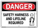 Vestil  SI-D-55-C-AC-130 sign-danger-55 14.5x10.5 alum comp .130