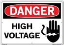 Vestil  SI-D-57-E-AL-080 sign-danger-57 20.5x14.5 aluminum .080