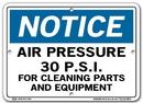 Vestil  SI-N-16-A-AL-063 sign-notice -16 10.5x7.5 aluminum .063