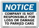 Vestil  SI-N-21-A-AL-063 sign-notice -21 10.5x7.5 aluminum .063