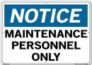 Vestil SI-N-44-E-AL-080 sign-notice-44 20.5x14.5 aluminum .080