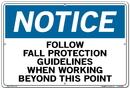 Vestil SI-N-53-D-AC-130 sign-notice-53 18.5x12.5 alum comp .130