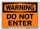 Vestil SI-W-01-A-AC-130 sign-warning-01 10.5x7.5 alum comp .130