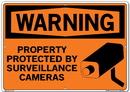 Vestil SI-W-30-E-AL-080 sign-warning-30 20.5x14.5 aluminum .080