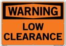 Vestil SI-W-56-E-AL-040 sign-warning-56 20.5x14.5 aluminum .040