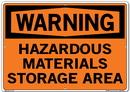 Vestil SI-W-59-E-AL-040 sign-warning-59 20.5x14.5 aluminum .040