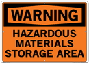 Vestil SI-W-59-E-AL-080 sign-warning-59 20.5x14.5 aluminum .080