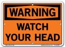 Vestil SI-W-62-A-AC-130 sign-warning-62 10.5x7.5 alum comp .130