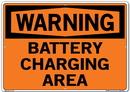 Vestil SI-W-68-E-AL-040 sign-warning-68 20.5x14.5 aluminum .040