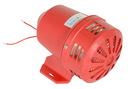 Vestil SIREN-SV-AR warning siren - steel - red