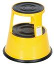 Vestil STEP-17-Y yellow rolling step stool 17 in