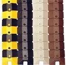 Vestil SWCP-3-BK cord protecter w/endcaps-40 x 3 black