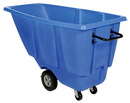 Vestil TDT-50-LD-BLUE light duty tilt truck 1/2 cu yd blue