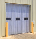 Vestil TG-1200-F-H-144-192 vinyl strip door 0.12 in full 144 x 192