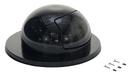 Vestil TRASH-TOP-BK black steel waste disposal top for drum