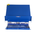 Vestil UNI-4848-4-BLU-115-1 lift table 4k 48x48 blue 115v 1 phase