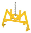 Vestil VDL-22.5 vertical drum lifter w/ 1000 lb capacity