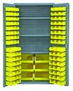 Vestil VSC-3501-102 storage cabinet-102 bins 36 x 72