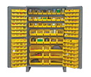 Vestil VSC-JC-171 storage cabinet-171 bins 24 x 78