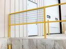 Vestil WM-48 steel sq safe handrail wire mesh 48 in