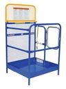 Vestil WP-3636 steel work platform 36x 36 in