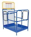 Vestil WP-3648-DD steel work platform w/2 door entry 36x48