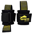 Spinto Fitness 9160056 Heavy Duty Lifting Straps,Black