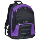 EVEREST 3045SH Two-Tone Backpack w/ Mesh Pockets
