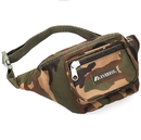 EVEREST C044MD Woodland Camo Waist Pack - Medium
