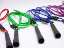 Everrich EVA-0001 Adjustable Jump Ropes - set of 6 Colors, Max. Length 9' long