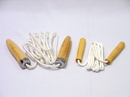 Everrich EVA-0018 Heavyweight Cotton Jump Ropes - 6' L