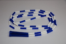 Everrich EVA-0038 Plastic Segmented Jump Ropes Set - 9' L, set of 6