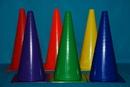 Everrich EVB-0018 Plastic Cones Set/6 - 18